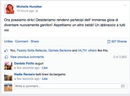 Michelle su facebook