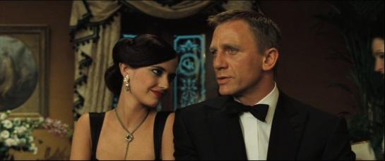 Casino Royale, Eva Green e Daniel Craig