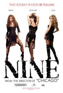 Penelope Cruz nella locandina di Nine